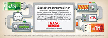 <u>Client:</u> Ikano Bank Agency : Garbergs